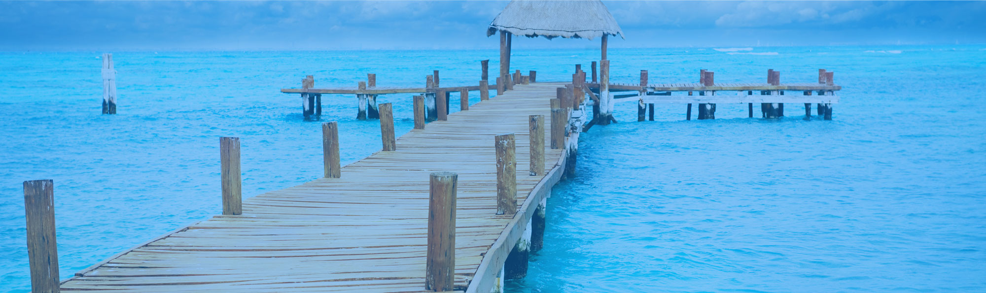 Dock and Blue Water